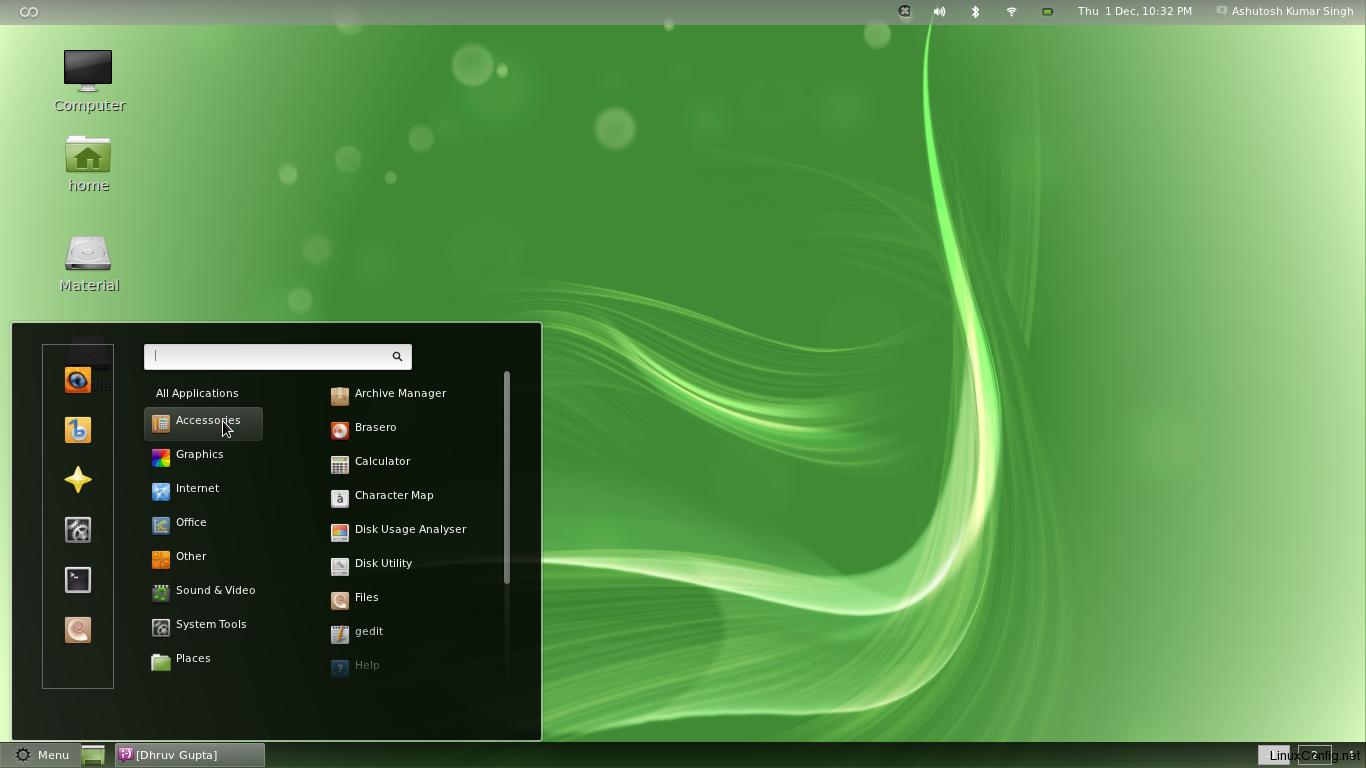 linux-mint-12-native-menu