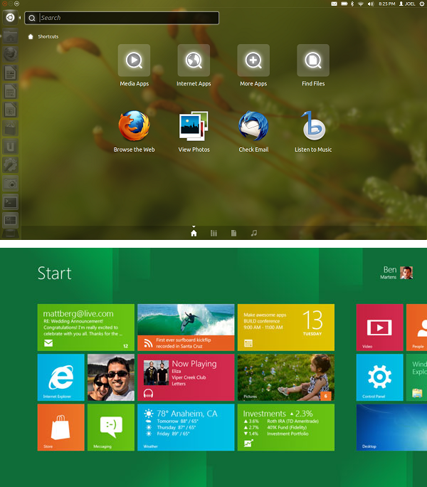 Comparison: Ubuntu 12.04 vs Windows 8 [Review]